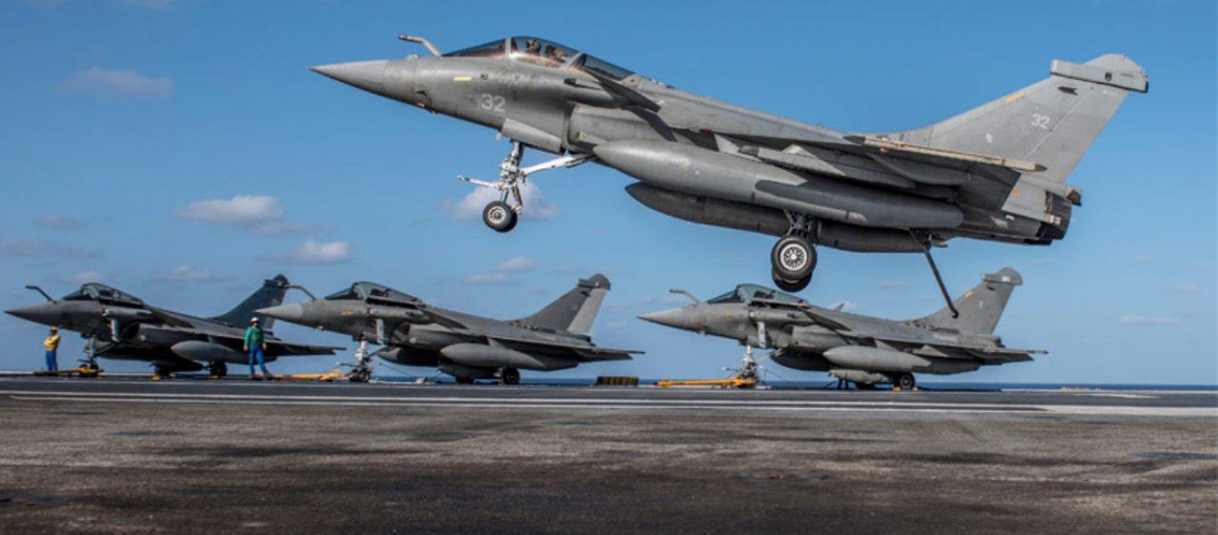 Charles de Gaulle: Στη Μεσόγειο για «μη προσδιορισμένη αποστολή» – Έντονη κινητικότητα από την τουρκική Αεροπορία!