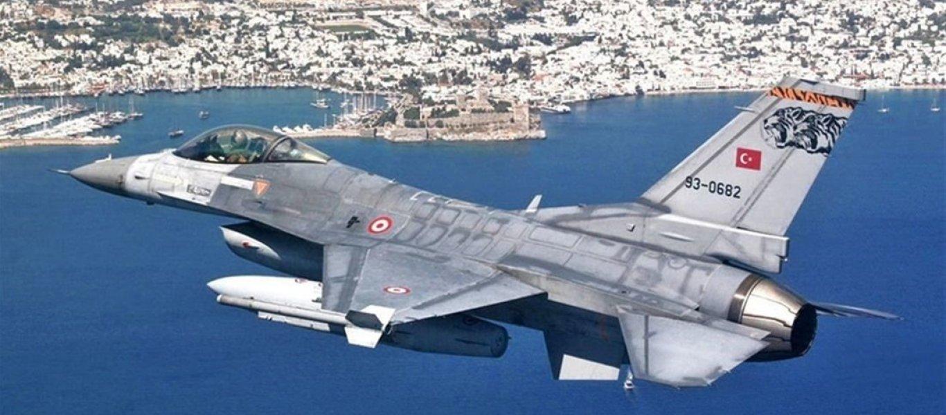 Τουρκικά μαχητικά πάνω και από τη Χίο – Επί 20 λεπτά «σάρωναν» ασταμάτητα το κεντρικό Αιγαίο!