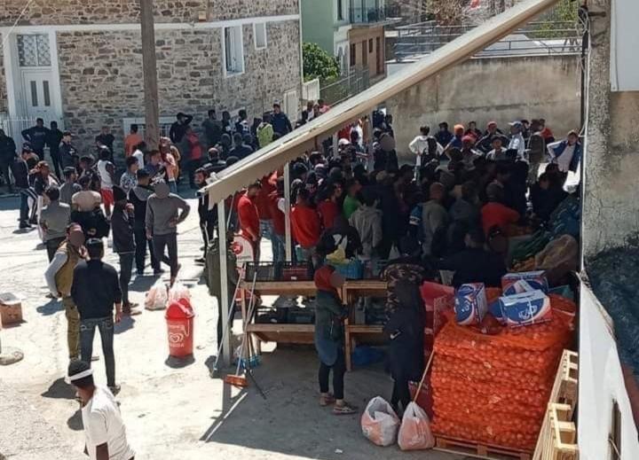 """ΧΑΜΟΣ στην ΣΑΜΟ! """"Μην ξεχνάτε, εμείς μένουμε σπίτι"""" έλεγε ο Γ.Γ Ασύλου, όσοι οι αλλοδαποί μπουλούκια έκαναν """"πάρτι""""… (φωτο)"""