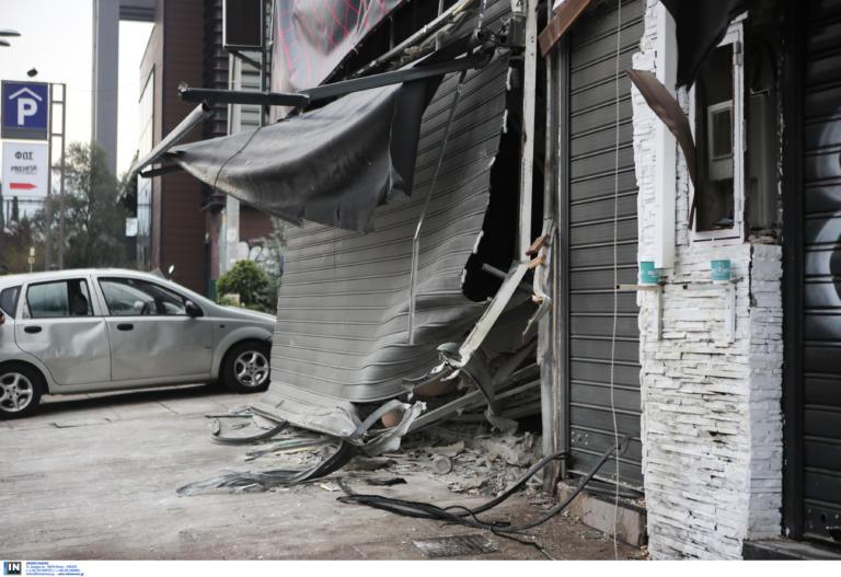 Τίναξαν στον αέρα sex shop στο Γκάζι! Σοβαρότατες ζημιές και σε δυο κοντινά καταστήματα! (ΦΩΤΟ)