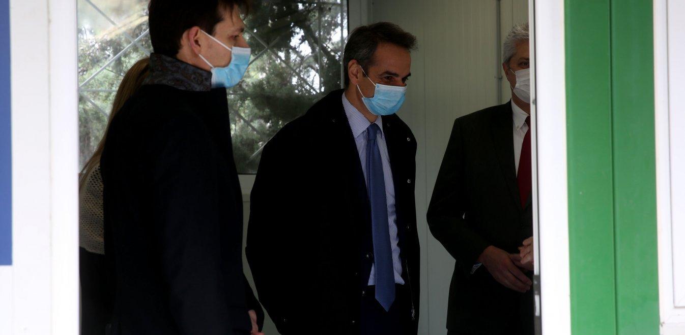 Το νοσοκομείο «Σωτηρία» επισκέφτηκε ο Κυριάκος Μητσοτάκης