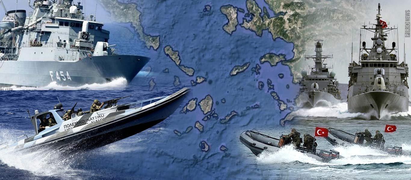 Δημοσκόπηση: Το 49% των Ελλήνων θέλει η Ελλάδα να απαντήσει στρατιωτικά στην Τουρκία!