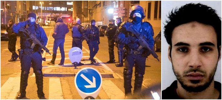 Επίθεση στο Στρασβούργο: Γάλλοι αστυνομικοί σκότωσαν τον μακελάρη