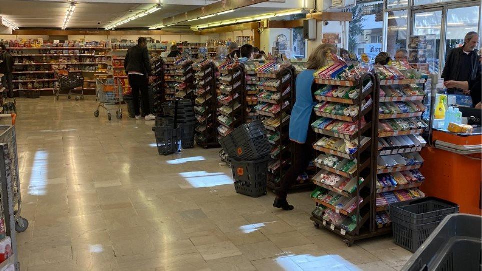Κορωνοϊός – Υπ. Ανάπτυξης: Τα σούπερ μάρκετ δεν κλείνουν -Υπάρχει επάρκεια