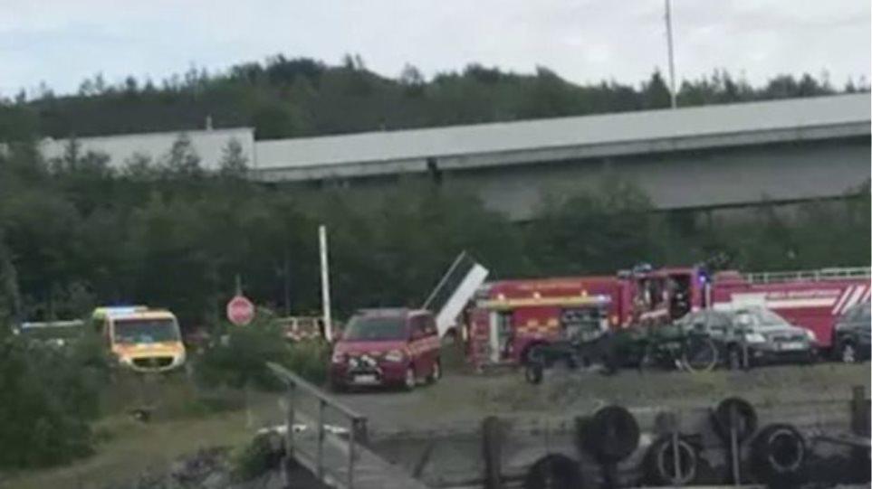 BINTEO – ΣΟΚ! Συντριβή αεροσκάφους στη Σουηδία – Εννέα νεκροί