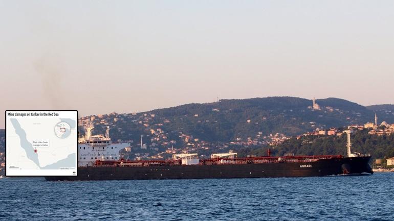 Ελληνικό τάνκερ έπεσε σε νάρκη στην Ερυθρά Θάλασσα!