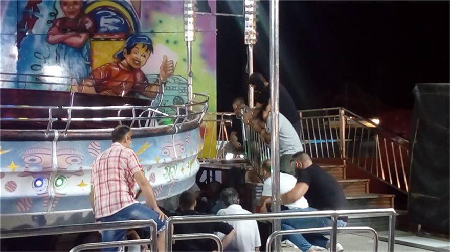 Βίντεο – ντοκουμέντο: Οι πρώτες στιγμές μετά το δυστύχημα στο λούνα – παρκ του Αλμυρού!