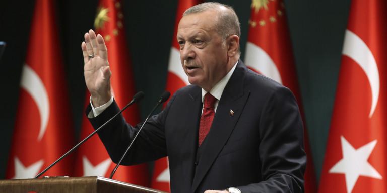 Ευθείες απειλές Ερντογάν: Θα απαντήσουμε σε Ελλάδα και Κύπρο όπως τους αξίζει!