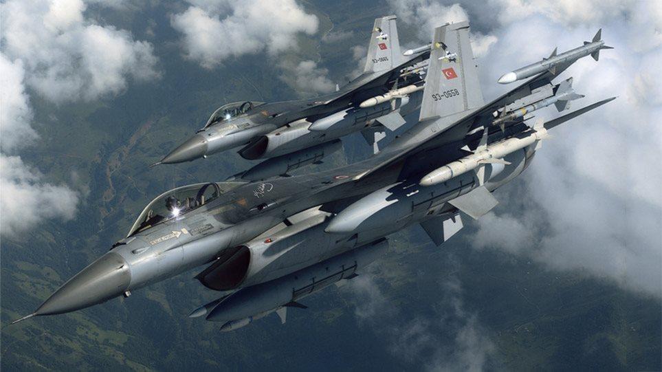 Τουρκικά F-16 πέταξαν χαμηλά πάνω από τον Έβρο! – Κλιμακώνει τις προκλήσεις η Άγκυρα