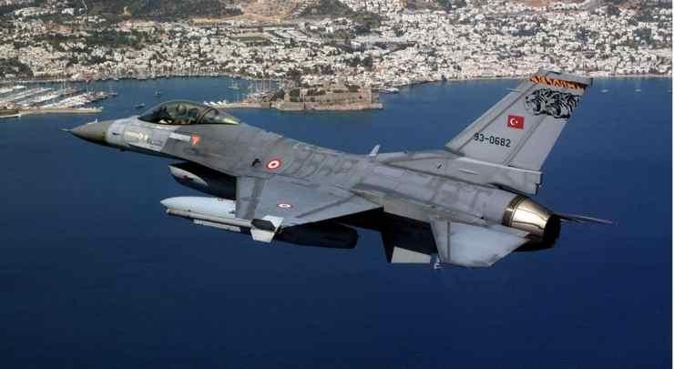 Αναχαιτίστηκαν τουρκικά F-16 που πέταξαν και πάλι πάνω από το Αιγαίο