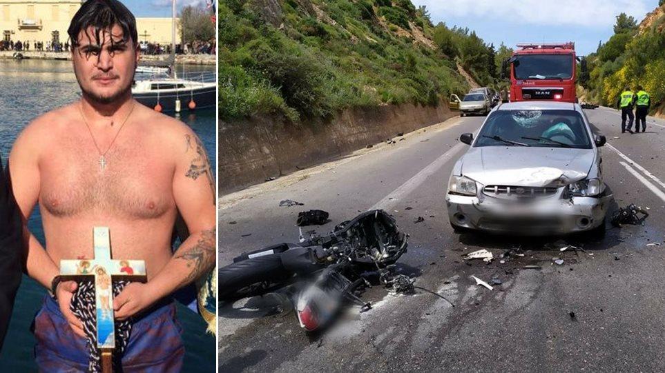 Κρήτη: Ο 21χρονος που σκοτώθηκε σε τροχαίο είχε πιάσει τον Σταυρό τα Θεοφάνια! (ΦΩΤΟ)