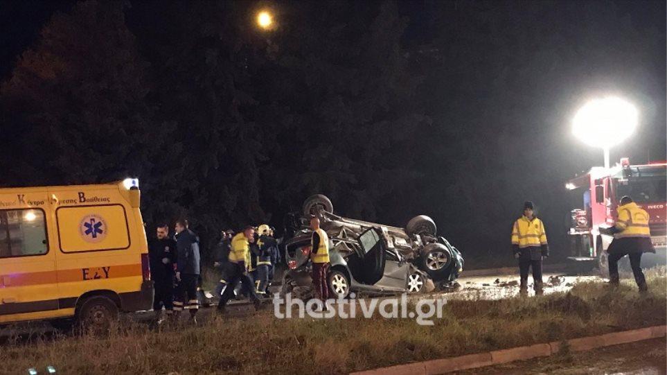 Τραγωδία στην άσφαλτο: Τροχαίο με δυο νεκρούς στη Θεσσαλονίκης – Μουδανιών (φωτο&βιντεο)