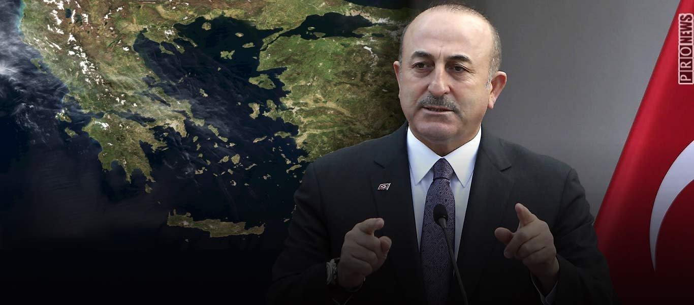 Μ.Τσαβούσογλου: «Αν επιτεθούμε στα ελληνικά νησιά δεν θα τα σώσει τίποτα – Διαπραγμάτευση για όλα ή αλλιώς… »