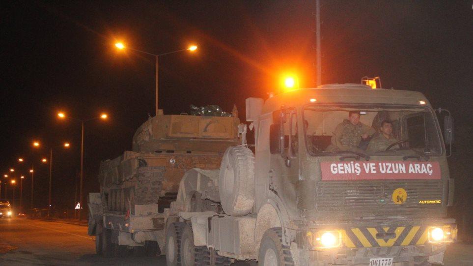 Η Τουρκία ενισχύει τα στρατεύματα στα σύνορα με τη Συρία – Πώς επηρεάζεται η Ελλάδα! (ΒΙΝΤΕΟ)