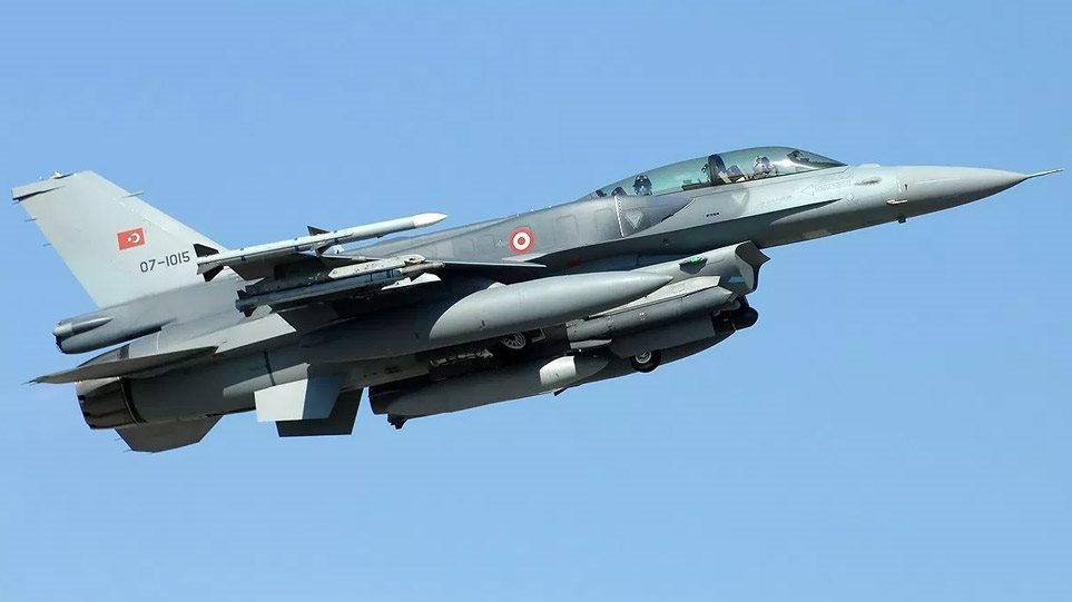 Μαζικές υπερπτήσεις από τουρκικά μαχητικά σε Οινούσσες, Παναγιά και Ρω!