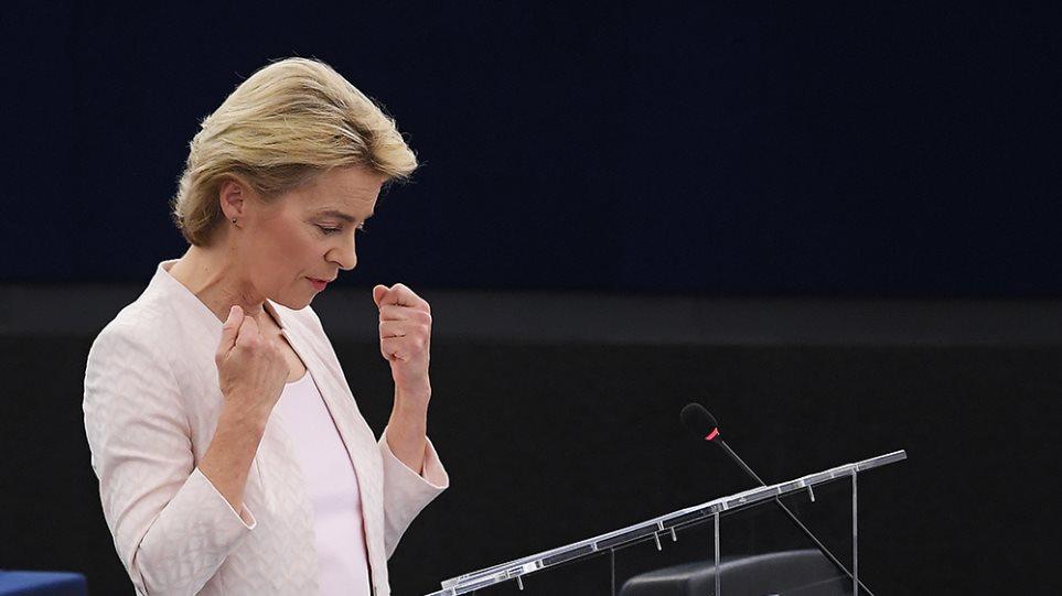 Η Ούρσουλα φον ντερ Λάιεν εξελέγη πρώτη γυναίκα πρόεδρος της Κομισιόν