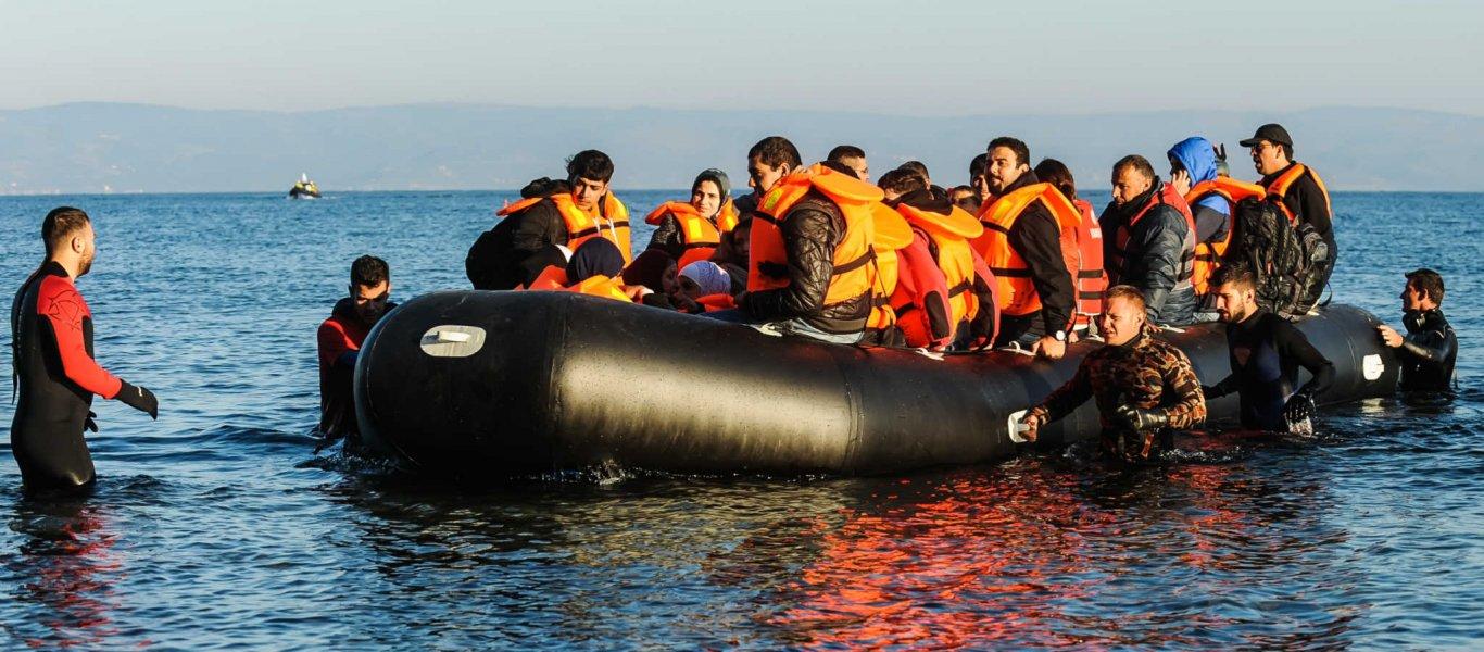 Βάρκες με αλλοδαπούς έφτασαν στη Λέσβο – Τους εξετάζει κλιμάκιο του ΕΟΔΥ ενώ είναι άγνωστο που θα μεταφερθούν!