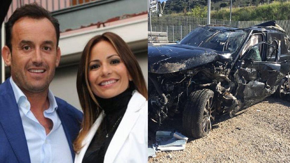 Ιόνια Οδός: Σοβαρό τροχαίο για τον επιχειρηματία Βασίλη Χήτο και τη σύζυγό του! (ΦΩΤΟ)