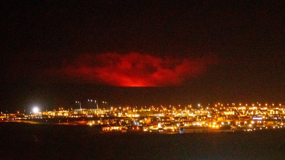 Ισλανδία: Εξερράγη το ηφαίστειο Fagradalsfjall