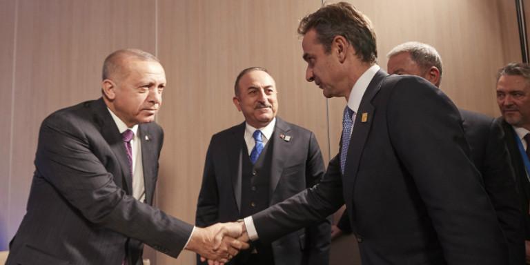 Μητσοτάκης-Ερντογάν συμφώνησαν ότι διαφωνούν -Συγκαλείται το Ανώτατο Συμβούλιο Εξωτερικής Πολιτικής! (ΒΙΝΤΕΟ)