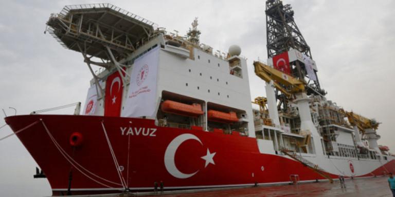Ξανά στην κυπριακή ΑΟΖ το τουρκικό γεωτρύπανο Γιαβούζ -Δεν ιδρώνει το αυτί του Ερντογάν!