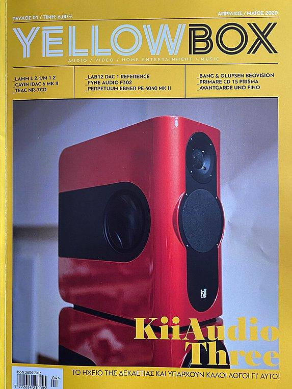 Στα περίπτερα το περιοδικό Yellow Box Audio-Video-Home Entertainment-Music Magazine