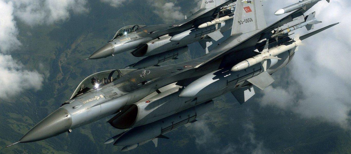 Ζεύγος τουρκικών F-16 πέταξε πάνω από ελληνικό νησί: Εγκλωβίστηκαν από το α/α σύστημα Patriot PAC 3 της Σκύρου!